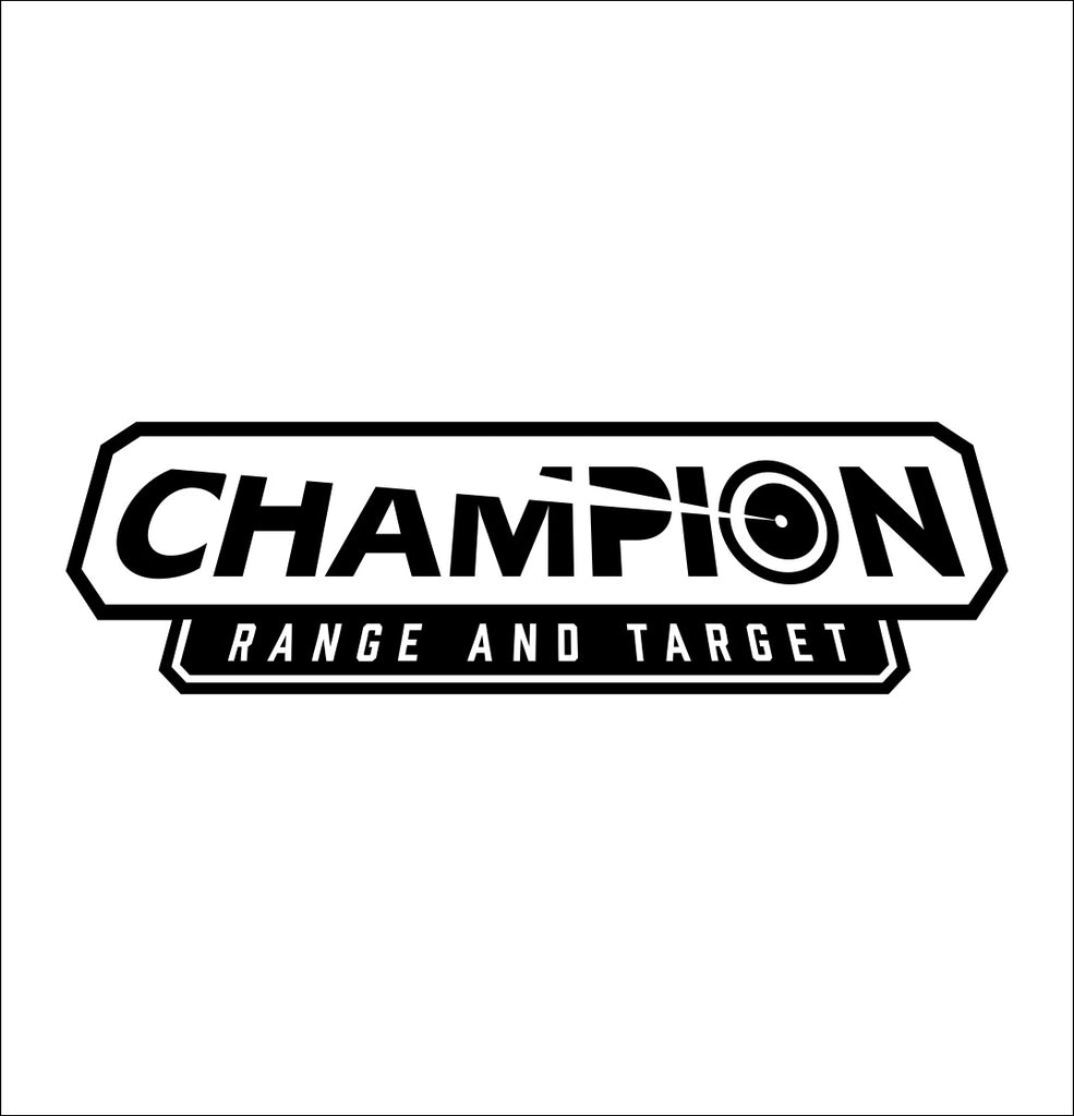 Champion Target decal, sticker, car decal
