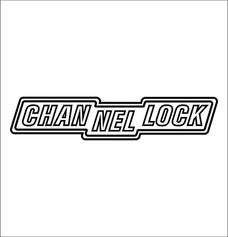 channellock decal, car decal sticker