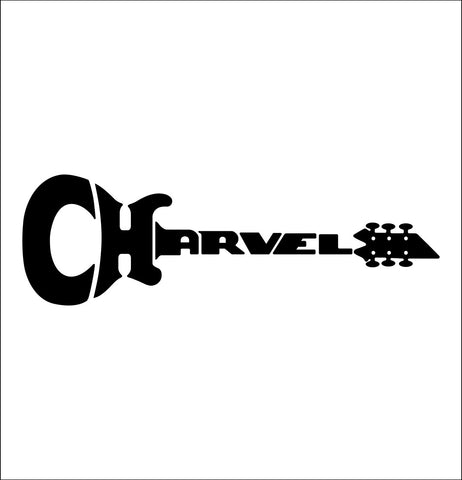 Charvel decal, music instrument decal, car decal sticker