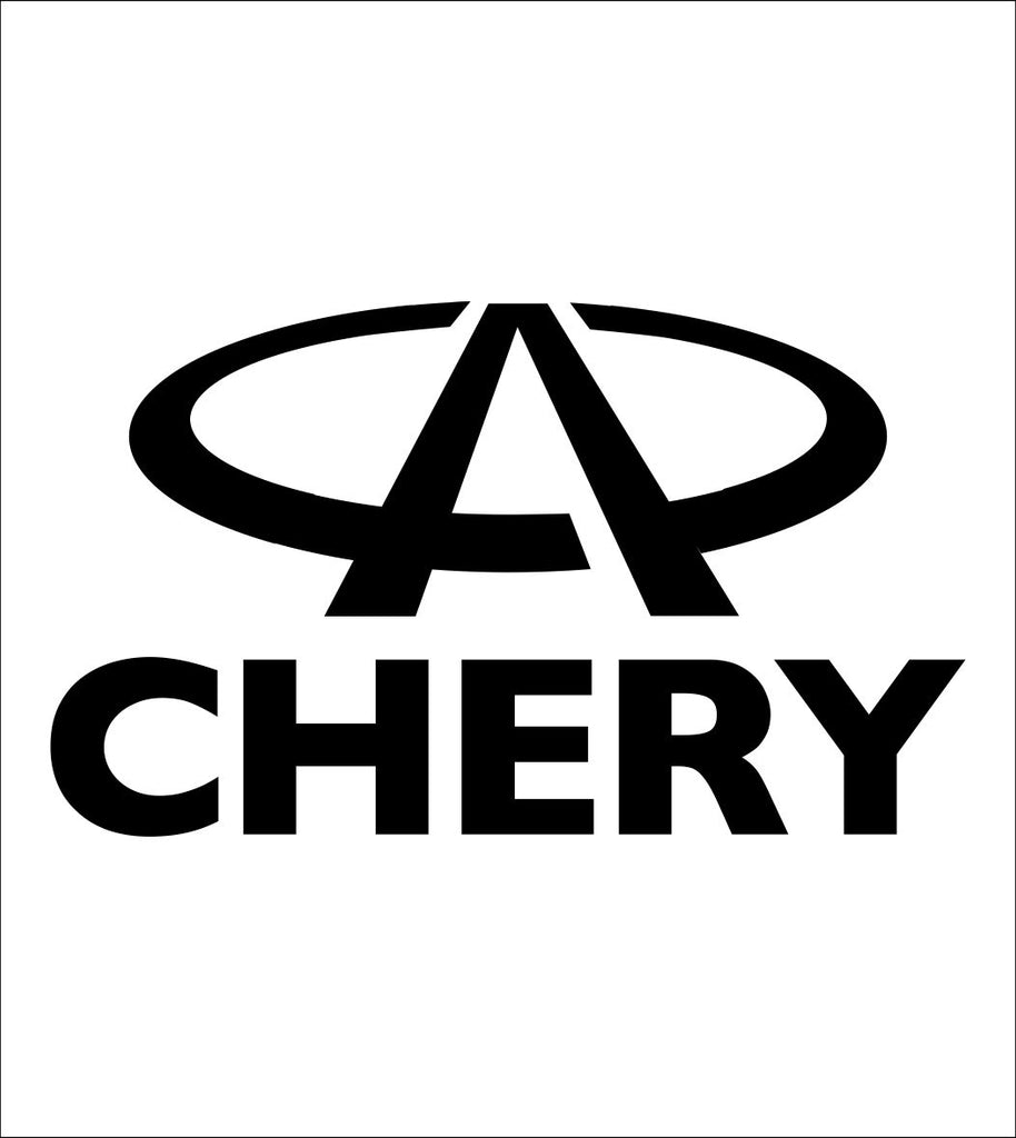 Chery decal, sticker, car decal