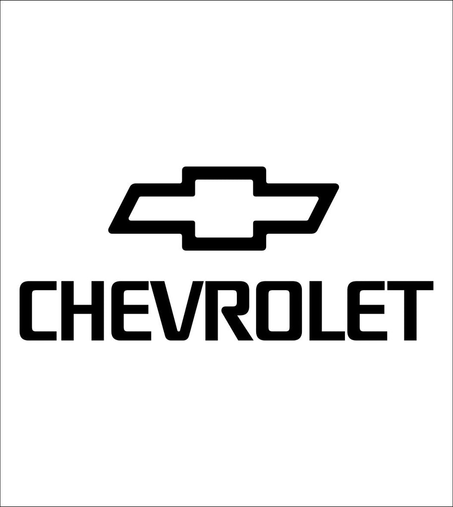 Chevrolet decal, sticker, car decal