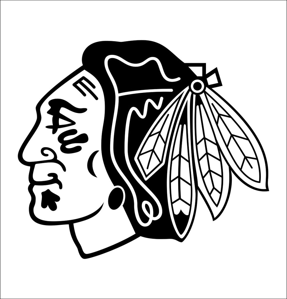 Chicago Blackhawks decal, sticker, nhl decal