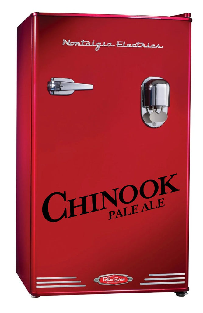 Chinook Pale Ale decal, beer decal, car decal sticker