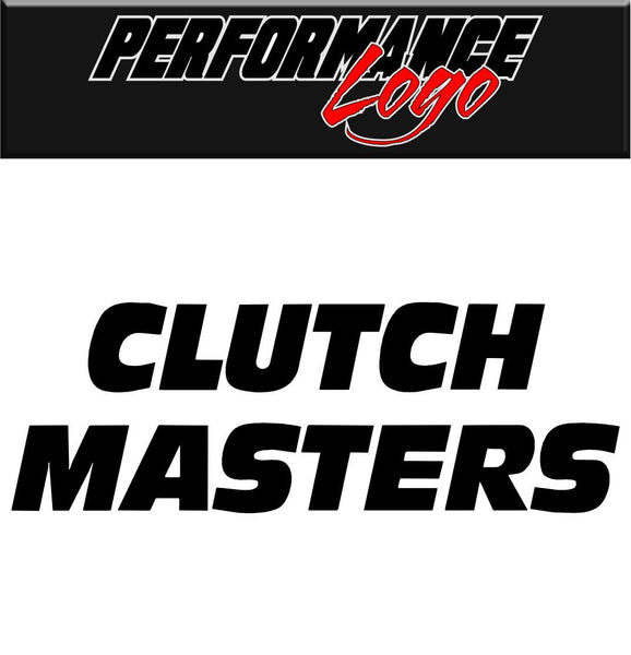 Clutch Masters decal performance decal sticker