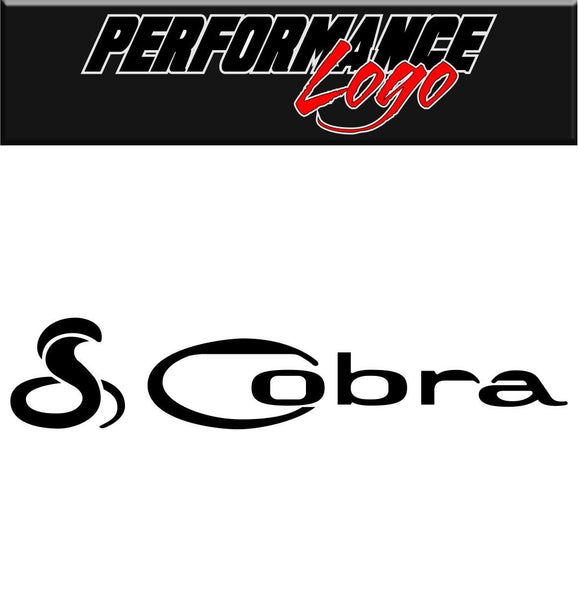 Cobra decal performance decal sticker