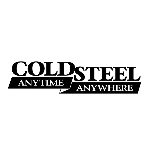 Cold Steel decal, sticker, car decal
