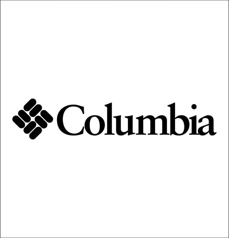 Columbia Sportswear decal, car decal sticker