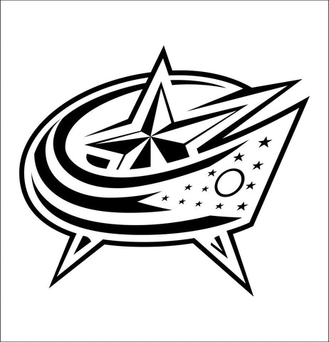 Columbus Blue Jackets decal, sticker, nhl decal