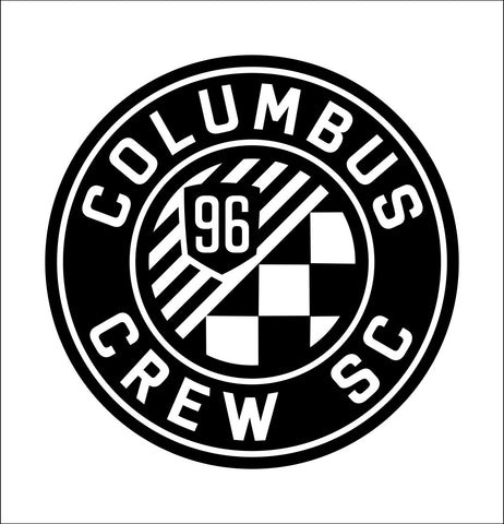 Columbus Crew decal, car decal, sticker
