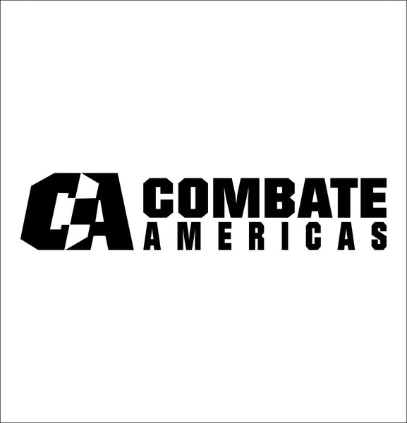 Combate Americas decal, mma boxing decal, car decal sticker
