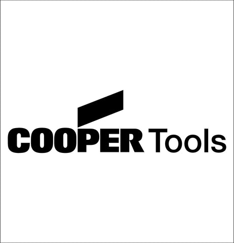 cooper tools decal, car decal sticker