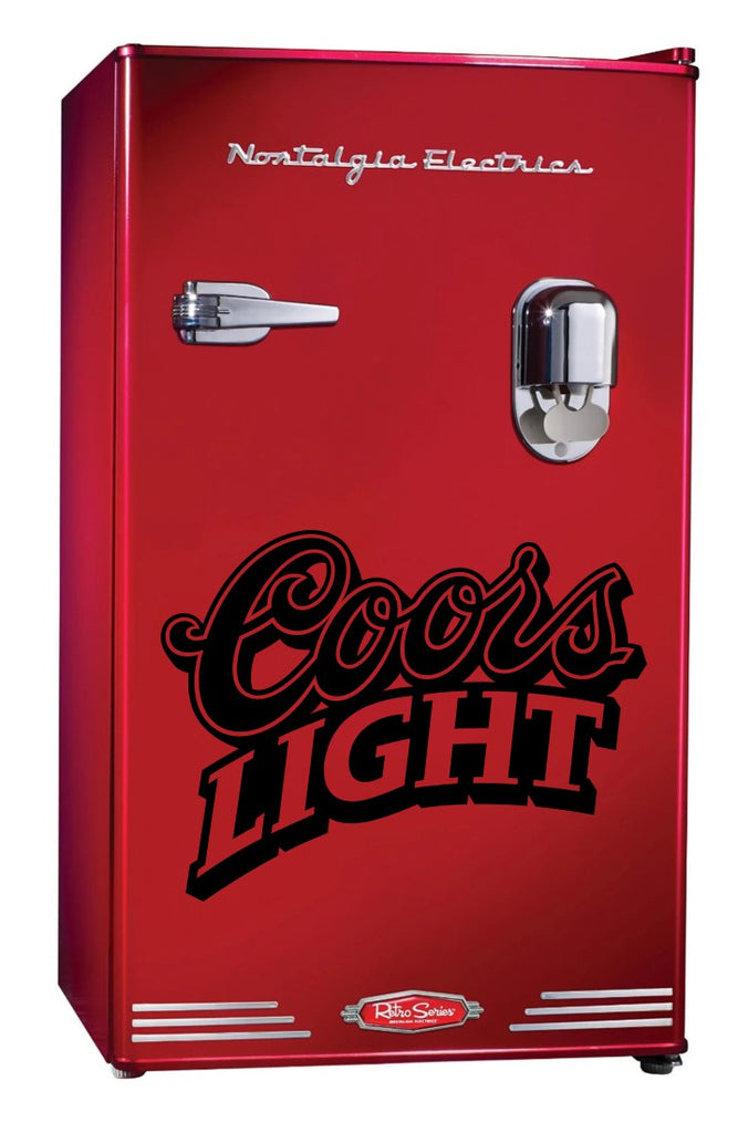Coors Light decal, beer decal, car decal sticker