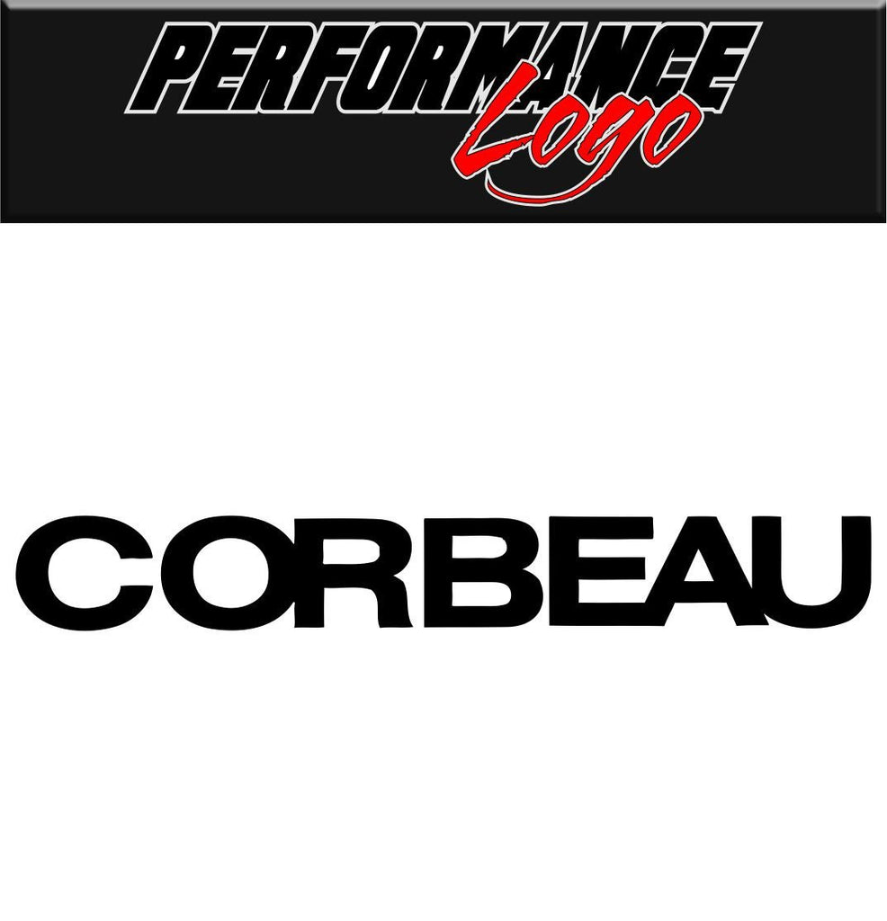 Corbeau decal performance decal sticker
