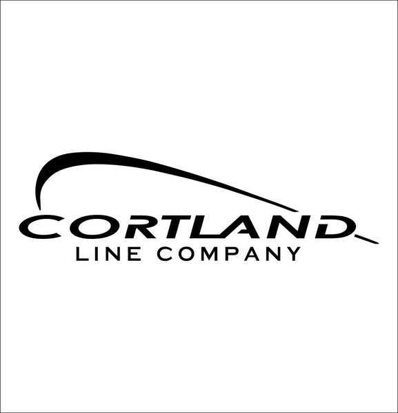 Cortland Line decal, sticker, hunting fishing decal