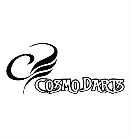 Cosmos Darts decal, darts decal, car decal sticker