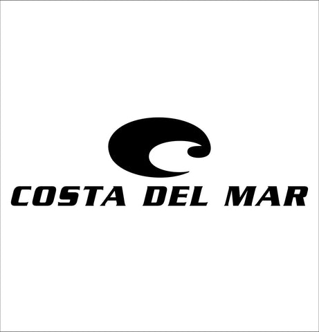 Costa Del Mar decal, car decal sticker