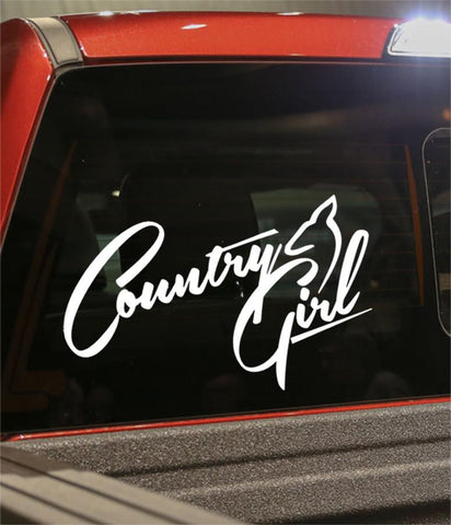 Country girl country & western decal - North 49 Decals