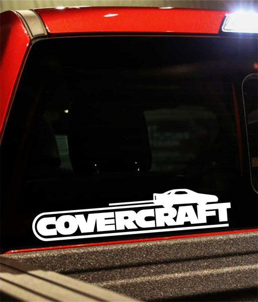 covercraft performance logo decal - North 49 Decals