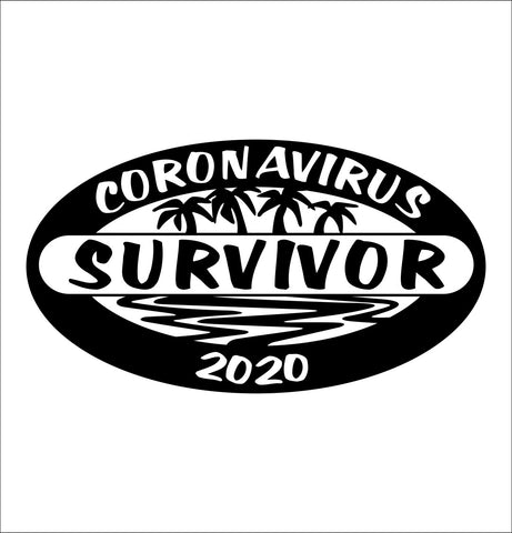 Coronavirus Covid 19 decal, covid 19 decal, car decal sticker