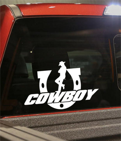 cowboy 2 country & western decal - North 49 Decals