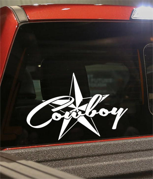 cowboy country & western decal - North 49 Decals