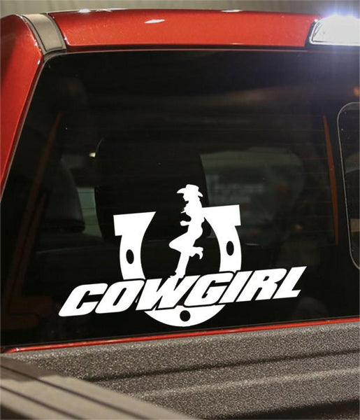 cowgirl 3 country & western decal - North 49 Decals