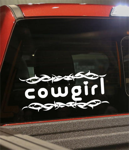 Cowgirl country & western decal - North 49 Decals