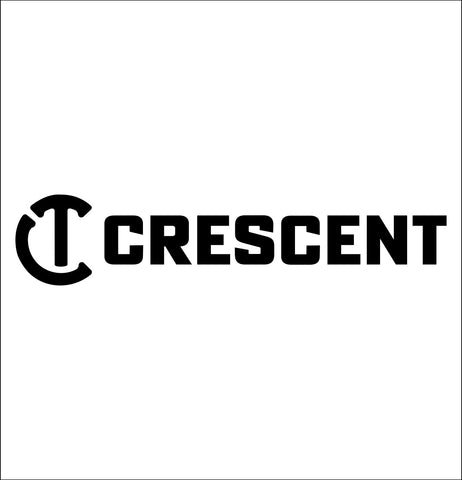 crescent tools decal, car decal sticker