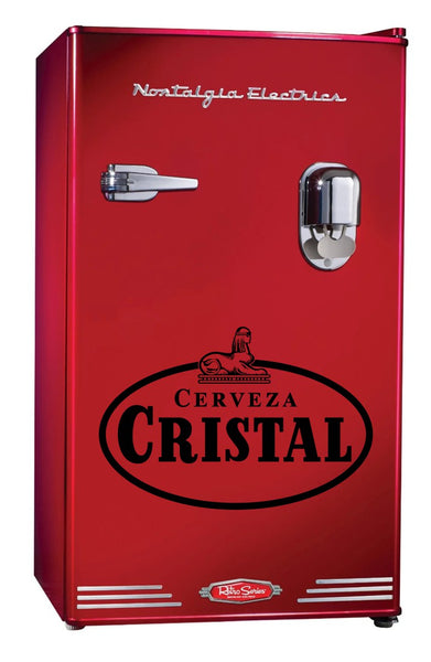 Cristal decal, beer decal, car decal sticker