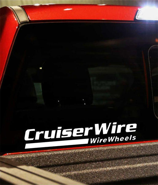 cruiser wire performance logo decal - North 49 Decals