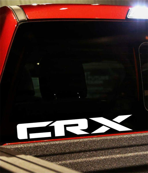 crx performance logo decal - North 49 Decals