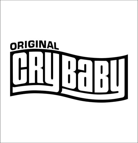 Cry Baby decal, music instrument decal, car decal sticker
