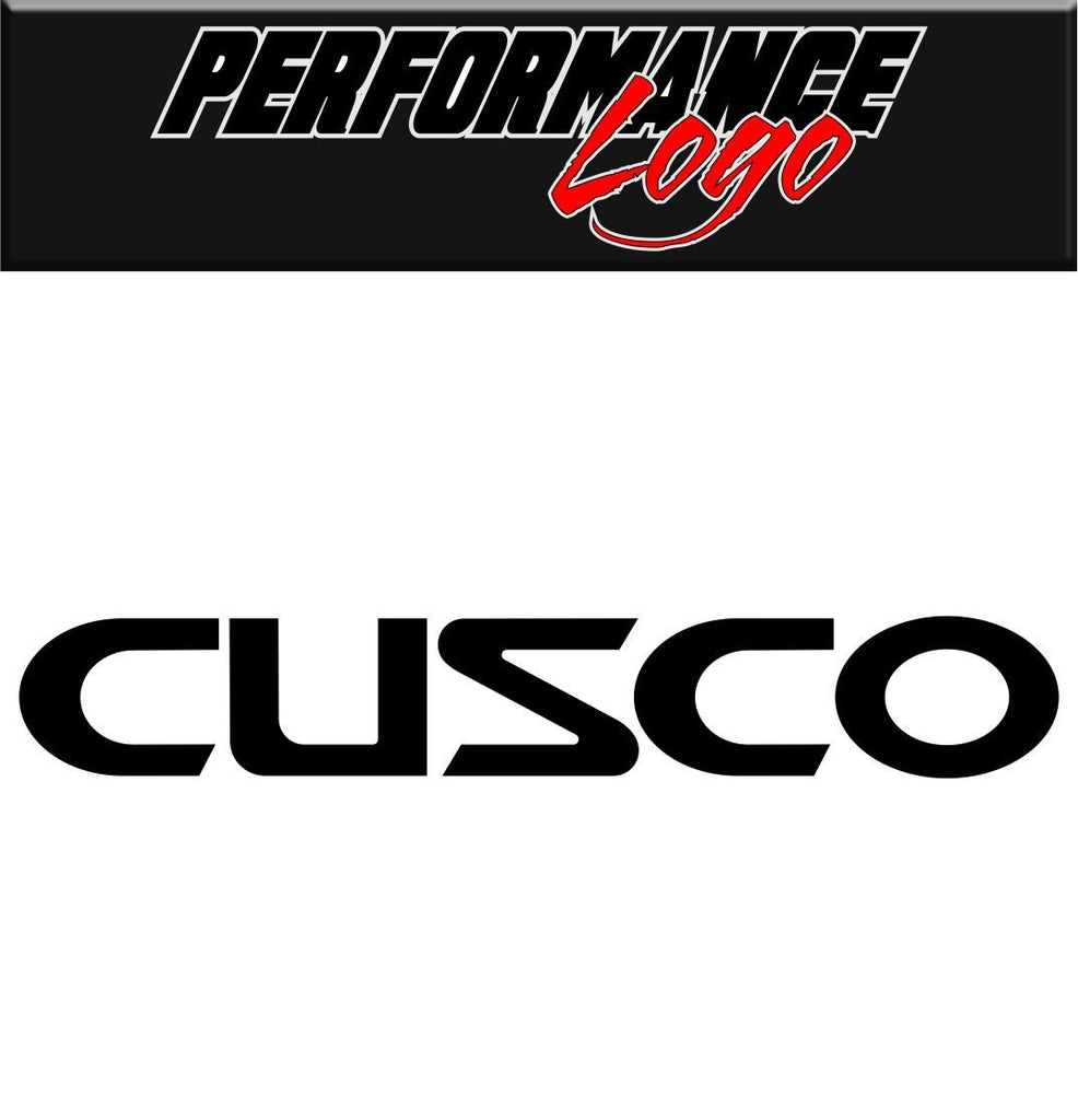 CUSCO decal performance decal sticker