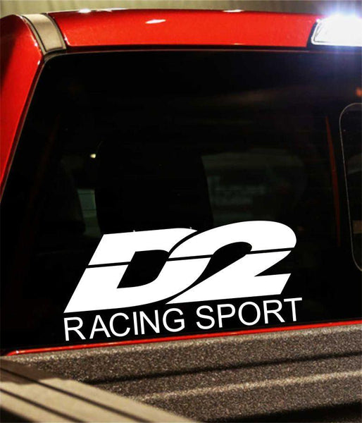 d2 racing performance logo decal - North 49 Decals