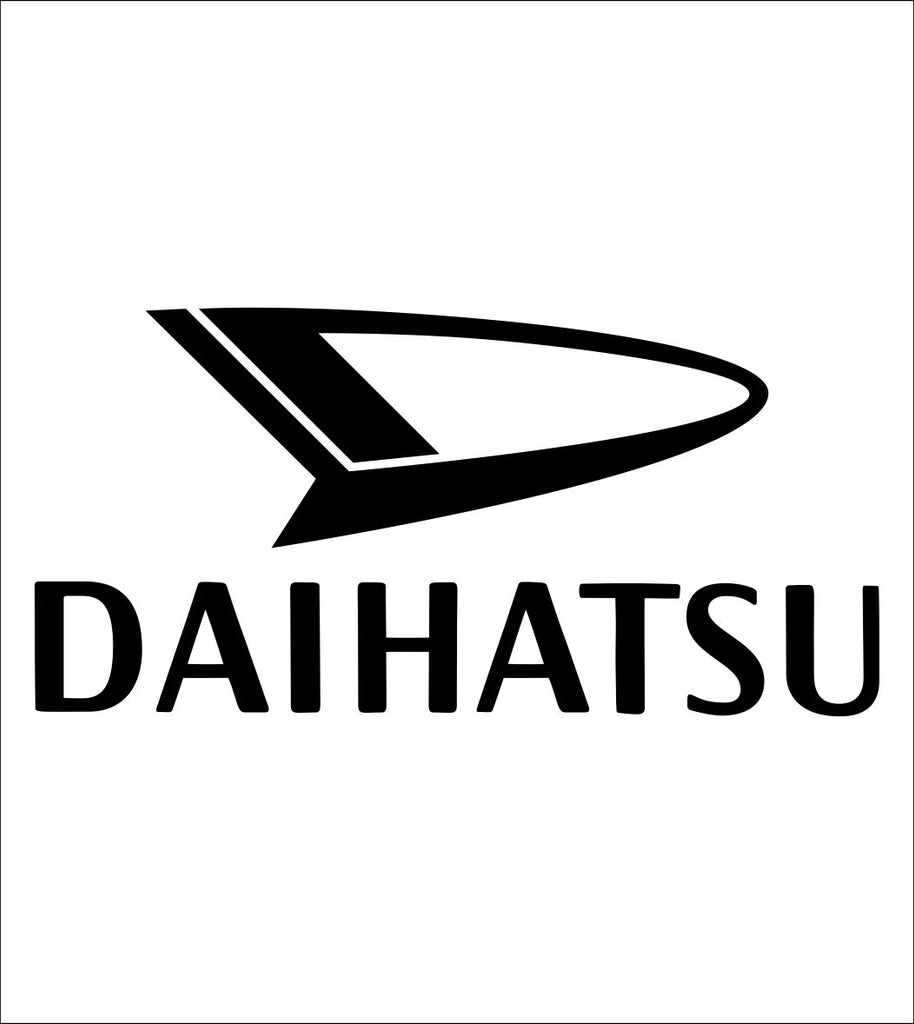 Daihatsu decal, sticker, car decal