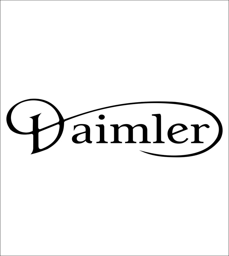 Daimler decal, sticker, car decal