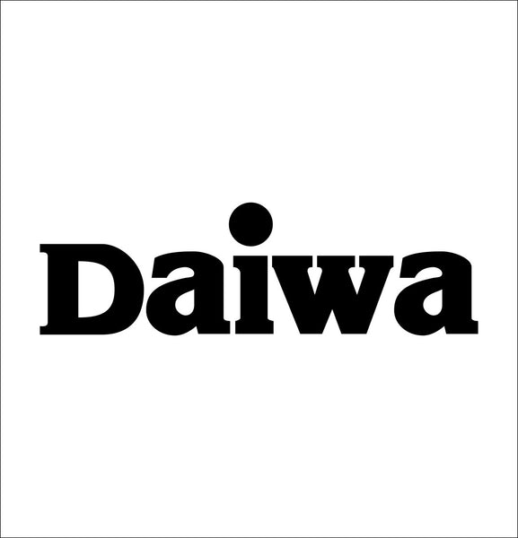 Daiwa decal, sticker, hunting fishing decal