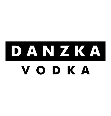 Danzka decal, vodka decal, car decal, sticker