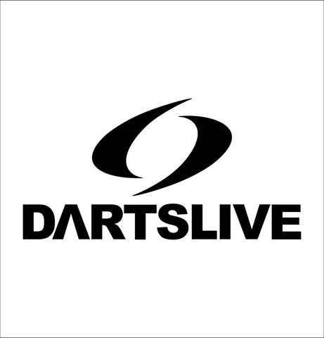 Dartslive decal, darts decal, car decal sticker