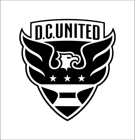 DC United decal, car decal, sticker