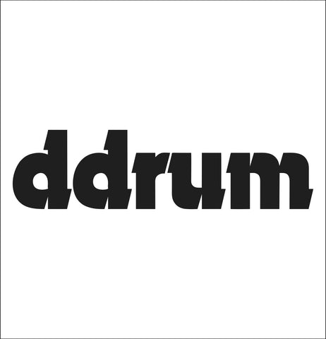 Ddrum decal, music instrument decal, car decal sticker