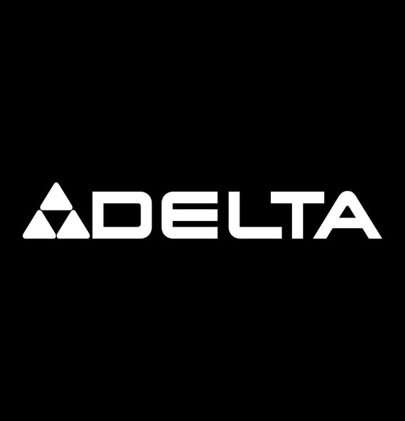 delta machinery decal, car decal sticker