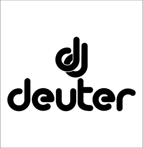 deuter decal, car decal sticker