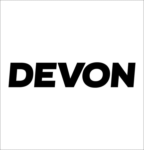 DEVON tools decal, car decal sticker