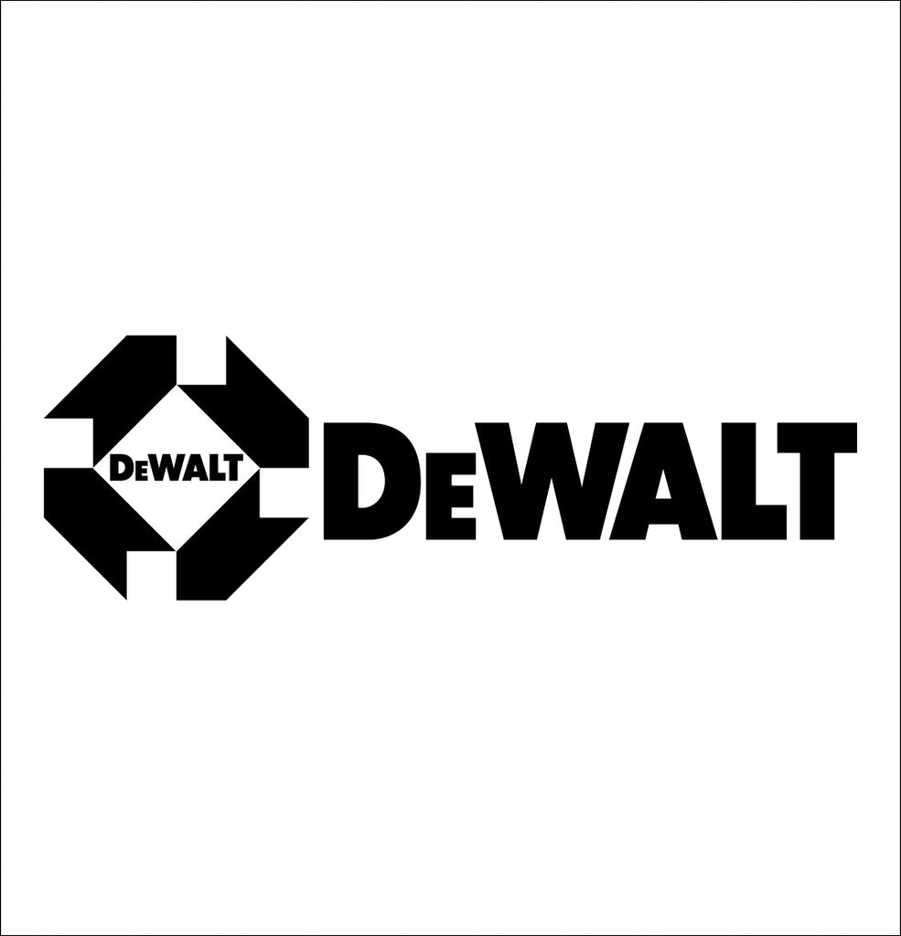 dewalt decal, car decal sticker