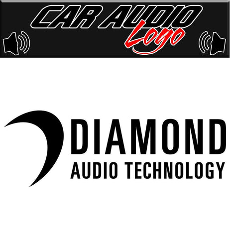 Diamond Audio decal, sticker, audio decal