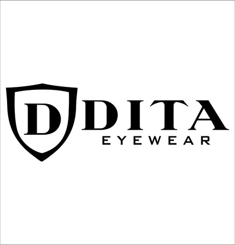 Dita decal, car decal sticker