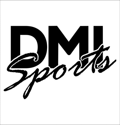 DMI Sports decal, darts decal, car decal sticker