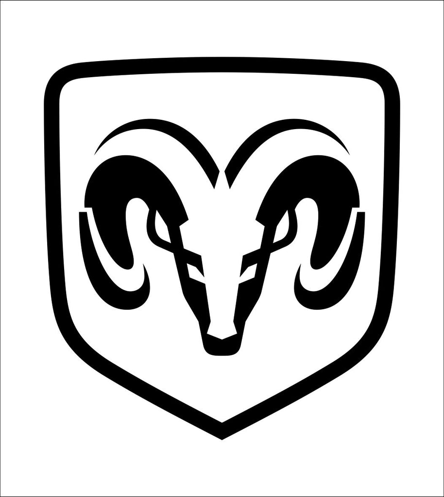 Dodge decal, sticker, car decal