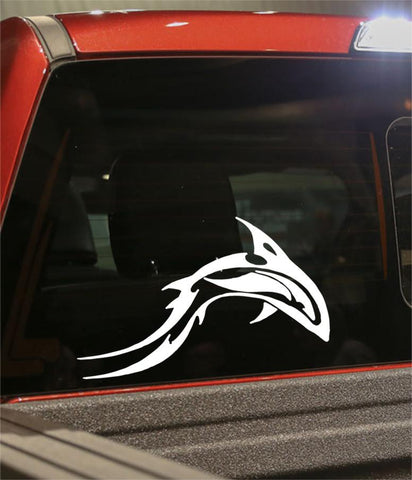 dolphin 2 flaming animal decal - North 49 Decals